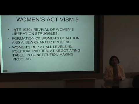 International Studies Symposium Series - Rashida Manjoo Part 4