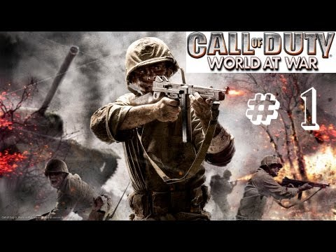 Call of Duty:World at War Совместное прохождение Часть 1