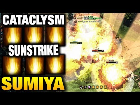 Sumiya Invoker Try Cataclysm and another Game Without It Dota 2 7.07 Dualing Fates