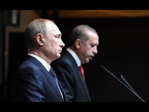 Историческая встреча: зачем Эрдоган летит к Путину