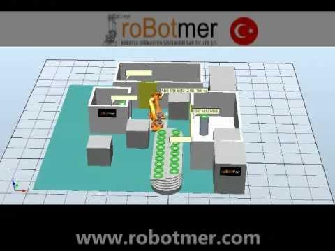 Taşıma Robotu Simülasyonu 2