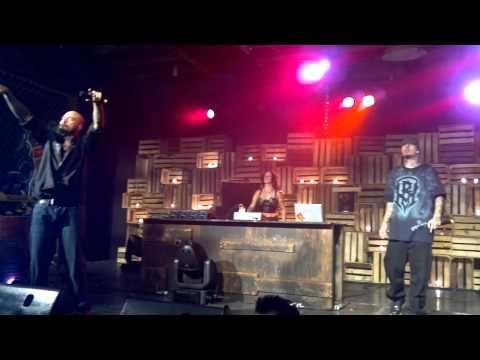 bombos y tarolas mira quien vuelve al 100 HD cartel de santa concierto jose cuervo df 05 mayo 2012
