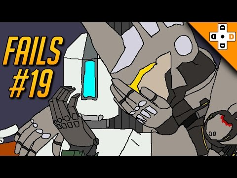 Overwatch Fail Moments #19 - Highlights Montage