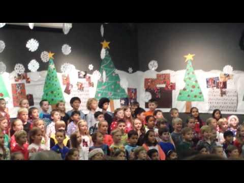 Isabelle Ceconi Christmas Recital 12.14 Bush Eleme