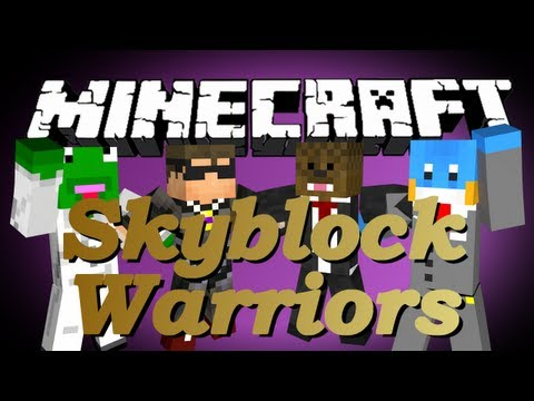 Minecraft SKYBLOCK WARRIORS w/ SkyDoesMinecraft, Kermit, and HuskyMudkipz #4