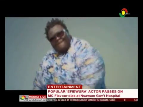 MiddayLive - Entertainment - MC Flavour passes on - 5/5/2016
