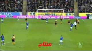 Jolie But De Ryad Mahrez vs Hull city 28-12-2014 premier league