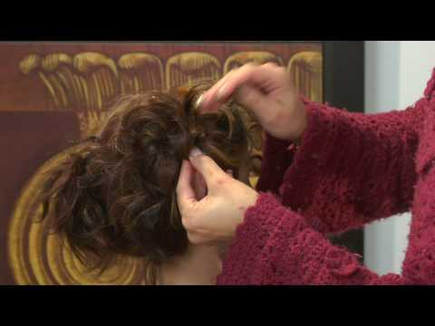 Hairstyles & Hair Care : How to Do a Curly Updo Hairstyle