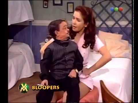 Natalia Oreiro . Bloopers