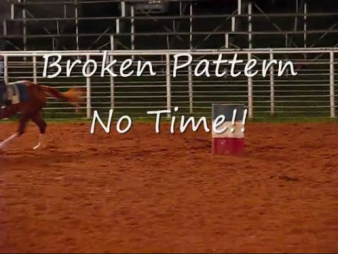 Jr. Rodeo Dylan had a bad day!!
