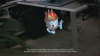 IT最前線のマジック・リープの仮想現実の新しい映像が公開