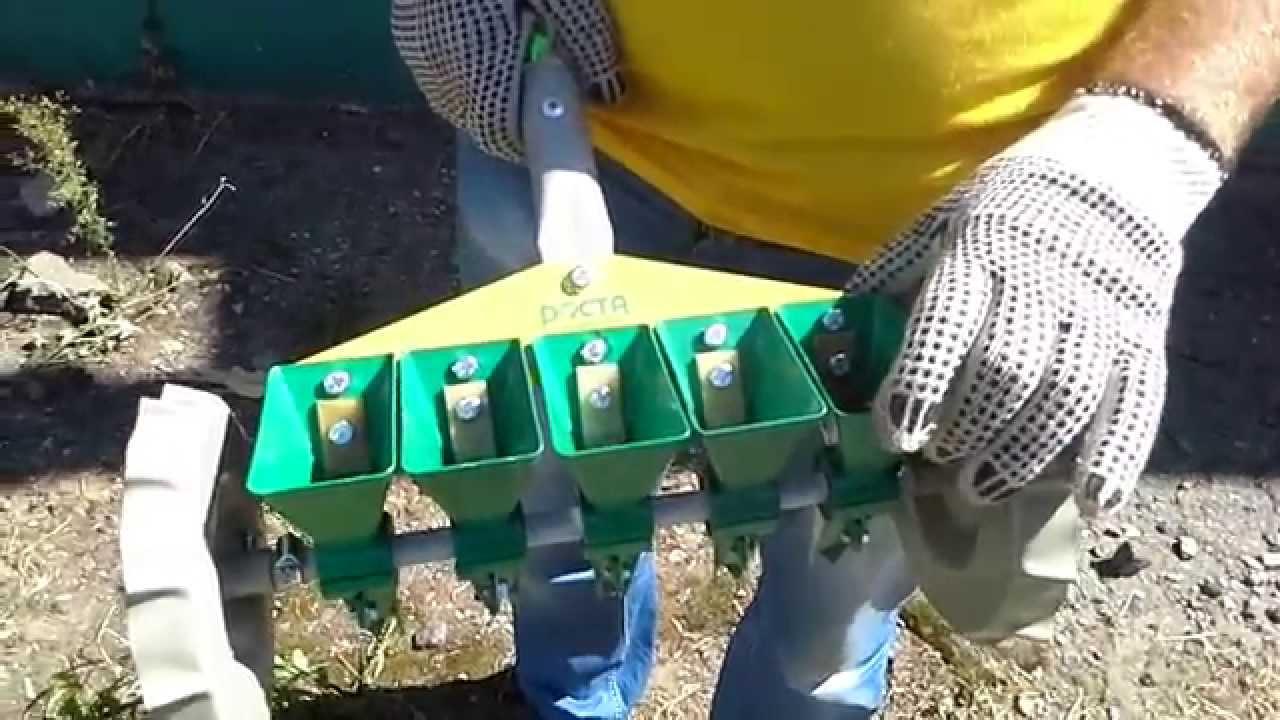 Сеялка точного высева для редиса своими руками 53