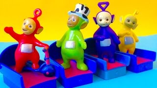 Teletubbies Tinky Winky Dipsy Lala and Po