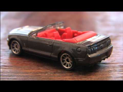 CGR Garage - SHELBY GT500 CONVERTIBLE Matchbox Car review