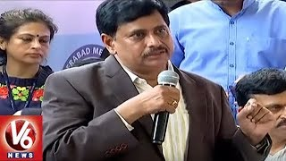 Metro MD NVS Reddy Speech After Launching Of Ameerpet To LB Nagar Metro Line | Hyderabad