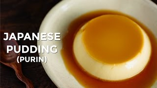 "How To Make Japanese Pudding ""Purin"