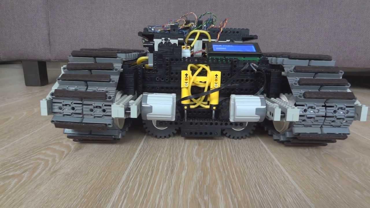 Lego arduino robot video moving sideward youtube
