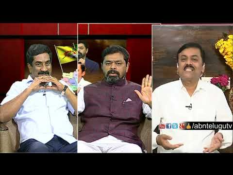 ABN MD Radha Krishna Counter To GVL Over  Namination Works | Big Debate | Rk Punch Dialogues