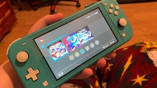 Nintendo Switch Lite First Impressions (turquoise)