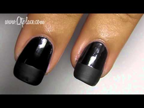 How to use a matte top coat