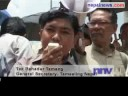 Small parties protest against petro price hike