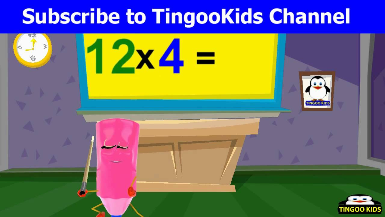 12 times table nursery rhymes teaser songs youtube for 12 times table song youtube