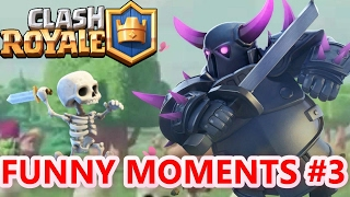 Clash Royale Most Funny Moments, Fail, Clutches & Troll (Compilation by LuoKho)