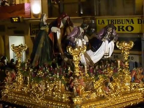 Santo Traslado Tribuna los pobres 2014 Málaga