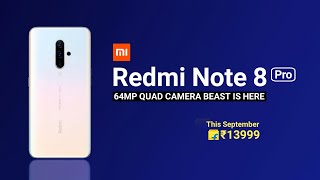 Redmi Note 8 Pro CONFIRMED - Specs, Launch, Price - The 64MP Beast! | Redmi Note 8 Pro