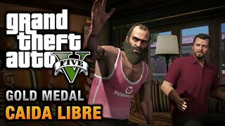 GTA 5 - Mission #45 - Caida Libre [100% Gold Medal Walkthrough]