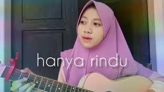 Hanya rindu - Cover by dyandra zafira