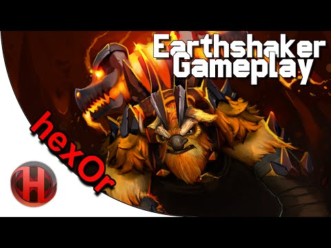 hexOr 6001 MMR Earthshaker Gameplay Dota 2