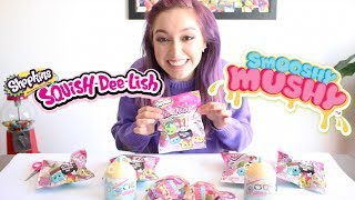 Shopkins Squish-Dee-Lish Series 3 & Smooshy Mushy Series 2 Unbagging! |Crafty Amy