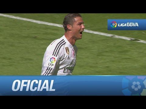 Repóker de goles de Cristiano Ronaldo, el primero de su carrera
