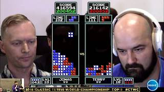 Top 8 - Classic Tetris World Championship 2015