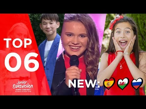 Junior Eurovision 2019 || Top 6 (so far)
