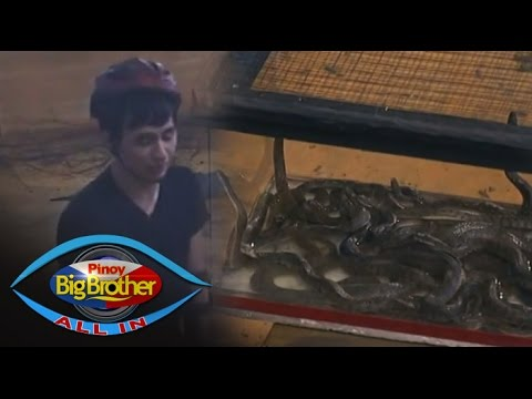 PBB: Fifth faces his fear of snake to save Manolo