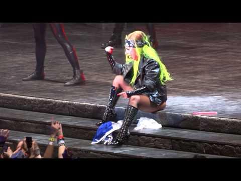 Lady Gaga Bad Kids and Hair Live Montreal 2013 HD 1080P