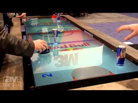 DSE 2015: MultiTaction Demos Digital Air Hockey Table