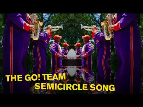 The Go! Team - Semicircle Song (Official Audio)