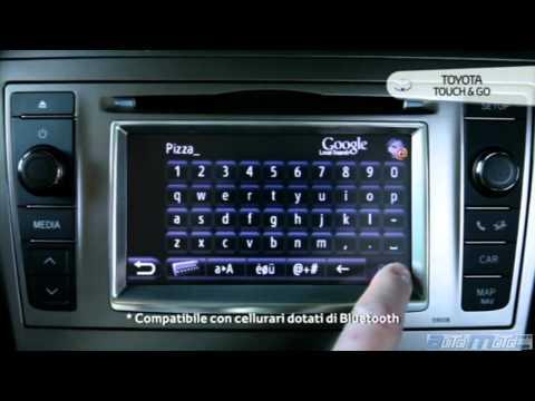 Nuova Toyota Avensis - Touch & Go Plus