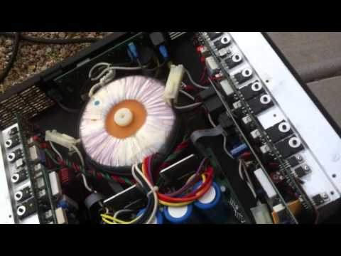 Correctly Cleaning Audio Amplifiers