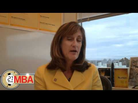 30 Second MBA - Janice Chaffin, President of Symantec s Consumer Business Unit - What do you do ab