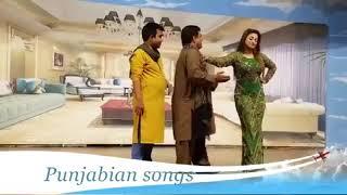 Best of guddu and nida chaudhary    stage drama  sexy funny jokes with NIDA CHAUDHRY by GUDDU KAMAL