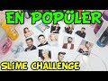 En Popüler Şarkıcılar ile Eğlenceli Slime Challenge