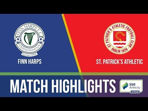 GW30: Finn Harps 1-2 St. Patrick's Athletic