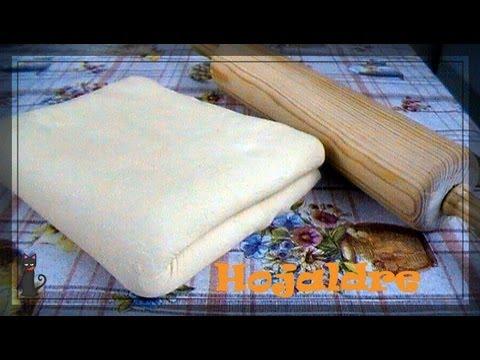 Pasta Hojaldre Receta Completa ¿COMO PREPARARLA? ✿◕‿◕✿