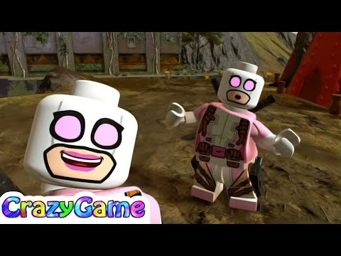 LEGO Marvel Super Heroes 2 Gwenpool (Chronopolis Free Roam)