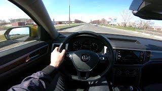 2018 Volkswagen Teramont 2.0 TSI (220hp) POV Test Drive