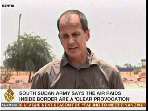 South Sudan army says the area of oil rich under attack
